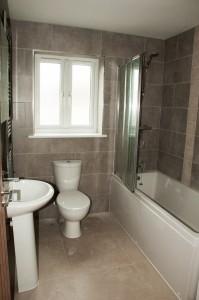 A newly-fitted bathroom