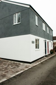 A completed development in Camborne