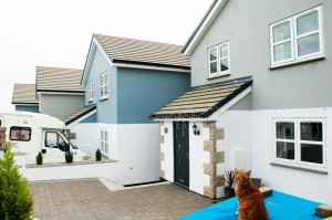 A completed development in Newlyn